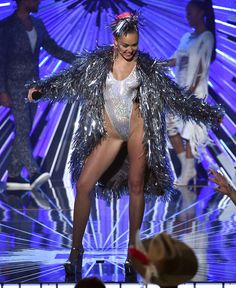 Pin for Later: See Every Supercrazy, Revealing Outfit Miley Cyrus Wore at the VMAs! Look 7