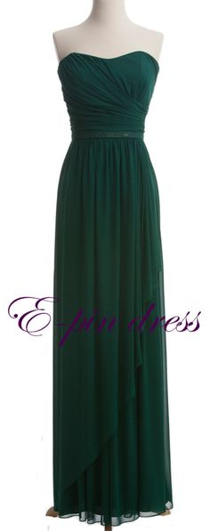 love this color...emerald green :)   Beautiful prom dress!!!