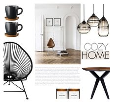 """""""Cozy Home"""" by nmkratz ❤ liked on Polyvore featuring interior, interiors, interior design, home, home decor, interior decorating, Innit, Kate Spade, Byredo and modern"""