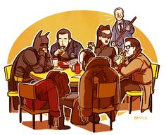 Dark Knight Rises, after the credits, Avengers style.