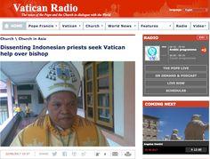 Media Vatikan Publikasi Berita Terkait Polemik di Keuskupan Ruteng
