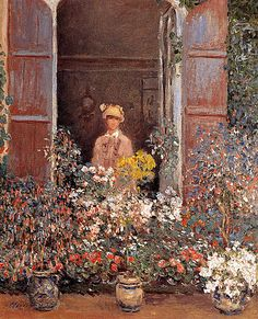 Claude Monet: Camille At The Window