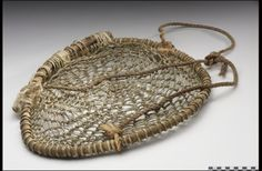 Figure 3 : Chitatli simple : panier en filet, exemple de Xalitla, Haut-Balsas, ca. 1950, conservé au National Museum of the American Indian <http://www.americanindian.si.edu/​searchcollections/​item.aspx ?irn =279225>