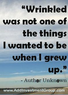 wrinkled...  #DoSomethingDifferent #Motivation #Inspiration #Quotes #Inspire #Inspired