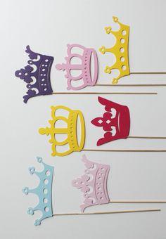Princesa fotomatón Props  siete princesa por LittleRetreats en Etsy, $33.25