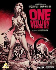 One Million Years B.C. - Blu-Ray/DVD (Studiocanal Region B/2) Release Date: October 24, 2016 (Amazon  U.K.)