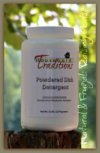 Giveaway: Powdered Dishwasher Detergent ~Tropical Traditions