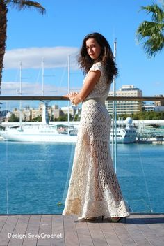Elegant lace dress, nice enough for Evening wear