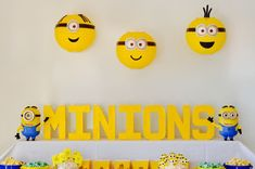 Get inspired with this creative & fun minions party! You'll love the minions sucker recipe, DIY minions paper lanterns, minions finger puppet craft & more! Diy Minion Birthday Party, Diy Party, Birthday Parties, Paper Lantern Making, Paper Lanterns, Minions, Puppet Crafts, Finger Puppets, Toy Chest