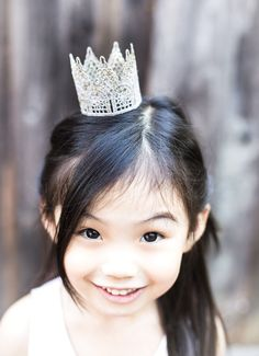 DIY - Glitter Lace Crowns - Full Step-by-Step Tutorial