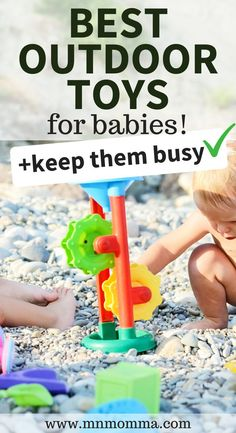 The best outdoor toys for babies to keep your baby busy all summer long. These outdoor toys are must haves for 0-1 year olds. Best Outdoor Toys, Outdoor Toys For Kids, Outdoor Baby, Outdoor Gifts, Newborn Baby Tips, Newborn Care, Educational Toys For Kids, Kids Toys, First Birthday Gifts Girl