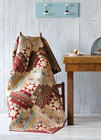Libby's Log Cabin Pattern Download from QuiltandSewShop.com