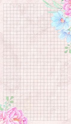 Ściana Printable Lined Paper, Free Printable Stationery, Disney Frames, Note Doodles, Notebook Paper, Stationery Paper, Planner Organization, Flower Backgrounds, Writing Paper