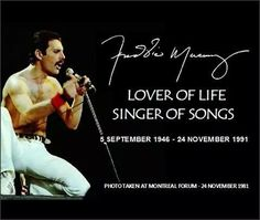 To know Freddie, listen to his songs.