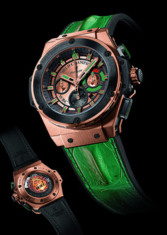 One of 12 unique #KingPower watches signed by boxing legends to be auctioned by #Hublot***