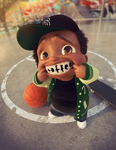 Save Your Smile 1 by Victor Hugo Queiroz | Cartoon | 3D | CGSociety