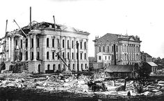 Image from http://upload.wikimedia.org/wikipedia/commons/e/ee/Construction_of_capitol_building,_1880,_Topeka,_KS.jpg.