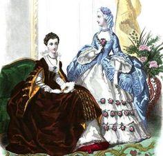 Ladies Of The 1860s: February 2012