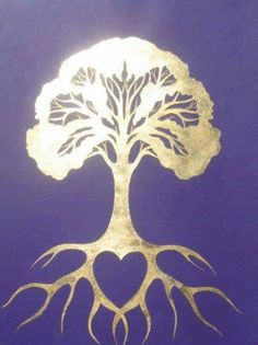Ground yourself with Love like a Tree & create your New beginnings from these roots