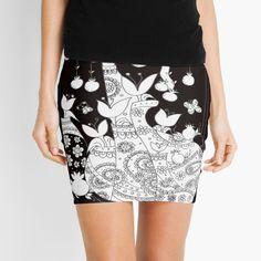 Promote | Redbubble Black And White, Mugs, Studio, Wall, Skirts, Fashion, Moda, Black N White, Skirt