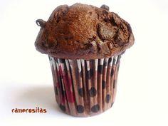 """Muffins de chocolate (estilo """"Starbucks"""") by Alicia (cane) on www.recetario.es"""