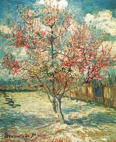 Peschi in fiore - 1888 - Van Gogh - Opere d'Arte su Tela - Listino prodotti - Digitalpix - Canvas - Art - Artist - Painting