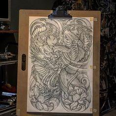 Asian Tattoos, Back Tattoos, Anubis, Hannya Mask Tattoo, Full Body Tattoo, Japan Tattoo, Oriental Tattoo, Irezumi Tattoos, Samurai Tattoo