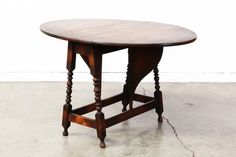 American Antique Drop Leaf Dining Table by VintageSupplyLA on Etsy Dining Table With Storage, Dining Table Dimensions, Drop Leaf Table, Diy Vanity, Cool House Designs, Design Firms, Vintage Furniture, Interior Design, Antiques
