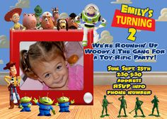 toy story invitation template free download