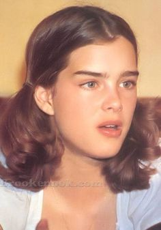 Photo of Brooke for fans of Brooke Shields 825112 Brooke Shields Eyebrows, Brooke Shields Young, Nastassja Kinski, Old Hairstyles, Cute Young Girl, Young Models, Ingrown Hair, Pretty Baby, Photography Women