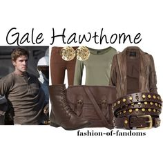 Gale Hawthorne by fofandoms on Polyvore featuring AllSaints, Fresh Made, Joe's Jeans, Wet Seal, Fat Face, Karen Millen and ASOS