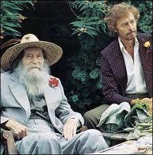 painter Duncan Grant w poet and novelist Paul Roche