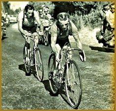 Jean Robic & Fausto Coppi...