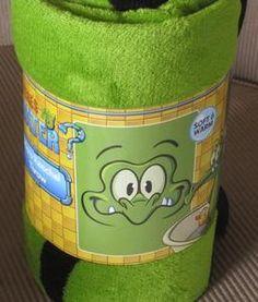 New Where's My Water Swampy Alligator Fleece Gift Blanket Disney Kids Cartoon | eBay