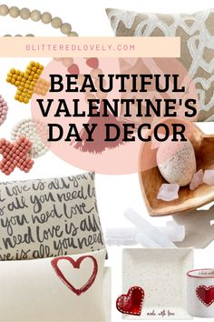 Beautiful Valentine's Day decor for your home.