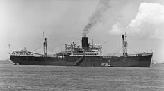 SS Tabaristan( shown here c.1970 as SS Hai Ning). Built by John Readhead & Sons for the Strick Line & completed in June '47. She was 7173 grt, 458ft long, 59ft beam and 29.1/2 draught. Powered by a T3cyl steam engine and LP turbine her single screw could give a speed of 12.5kts. Sold to Asimi Maritine Co & renamed SS St.Grigorius in '68, she was almost immediately resold to Southern Shipping & Enterprise of Hong Kong & renamed SS Hai Ning. Scrspped 16/11/71.
