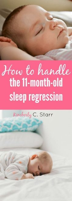When your baby hits that dreaded 11 month old sleep regression it's the worst. Thankfully there is an easy way to deal with it. And that same method also works with time changes (did I mention I hate Daylight Savings? 11 Month Old Baby, 10 Month Olds, 11 Month Sleep Regression, 11 Month Old Schedule, Sleeping Patterns For Babies, Sleep Training Methods, Baby Sleep Schedule, Sleeping Too Much, Toddler Sleep