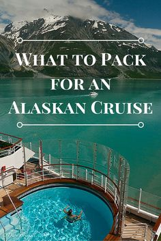 What to Pack for an Alaskan Cruise | An Alaskan Cruise requires a little more planning when it comes to packing. You need many more layers and a lot more luggage than you would for a cruise to a tropical destination. | The Planet D Adventure Travel Blog