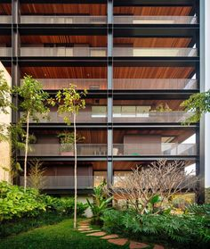 """""""Isay Weinfeld I Residential building in São Paulo"""" Picture by Fernando Guerra"""