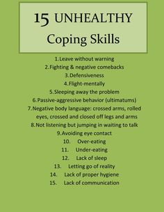 When I was hospitalized, I realized that I, like a lot of you, use some pretty unhealthy coping skills to overcome different negative emotions. These coping skills led me to do some pretty dumb…