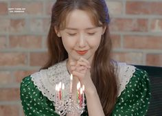 Yoona Snsd, Girls Generation, Tea Lights, Crown, Candles, Fashion, Moda, Corona, Fashion Styles