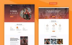 Gymes - Fitness and Gym PSD PSD Template Text Icons, Web Design Software, Wordpress Template, Psd Templates, Health Care, Gym, Workout, How To Plan, Fitness