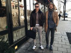 http://chicerman.com  billy-george:  Fashionable  #streetstyleformen