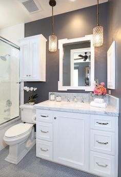 Glamourpuss bathroom or en suite style