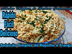 Batatas Sauté – confira a receita Empanadas, Free Food, Carne, Potato Salad, Dinner Recipes, Healthy Recipes, Ethnic Recipes, Desserts, Coleslaw
