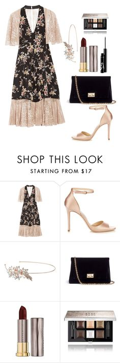 """""""Untitled #125"""" by samssr ❤ liked on Polyvore featuring Anna Sui, Jimmy Choo, Nina, Rodo, Urban Decay and Givenchy"""