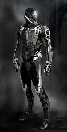 Suit concept by Bro-Bot - Eric Felten #scifi
