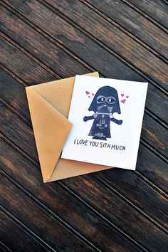 This item is unavailable – I Love You Sith Much Card darth vader card star by … – The Unique Valentine's Day Gifts Bf Gifts, Diy Gifts For Boyfriend, Birthday Gifts For Boyfriend, Valentine Day Cards, Be My Valentine, Valentine Day Gifts, Starwars Valentines, Happy Valentines Day Funny, Funny Cards