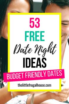 Fun and free date ideas for married couples to relax and unwind together. Perfect for all seasons: spring, summer, fall, or winter. Relax at home or go out! Love this fun and creative list of free date night ideas. Free Date Ideas, Movie In The Park, At Home Dates, At Home Date Nights, Living On A Budget, Frugal Living, Year Of Dates, Budgeting Tips, Finance Tips