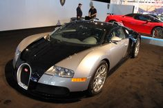 13. At auto shows, many automakers hire female models (AKA booth babes) to stand alongside their products. But the Bugatti Veyron doesnt need a model to make it look good. At the New York Auto Show this year, it had a security guard to keep people from getting too close.